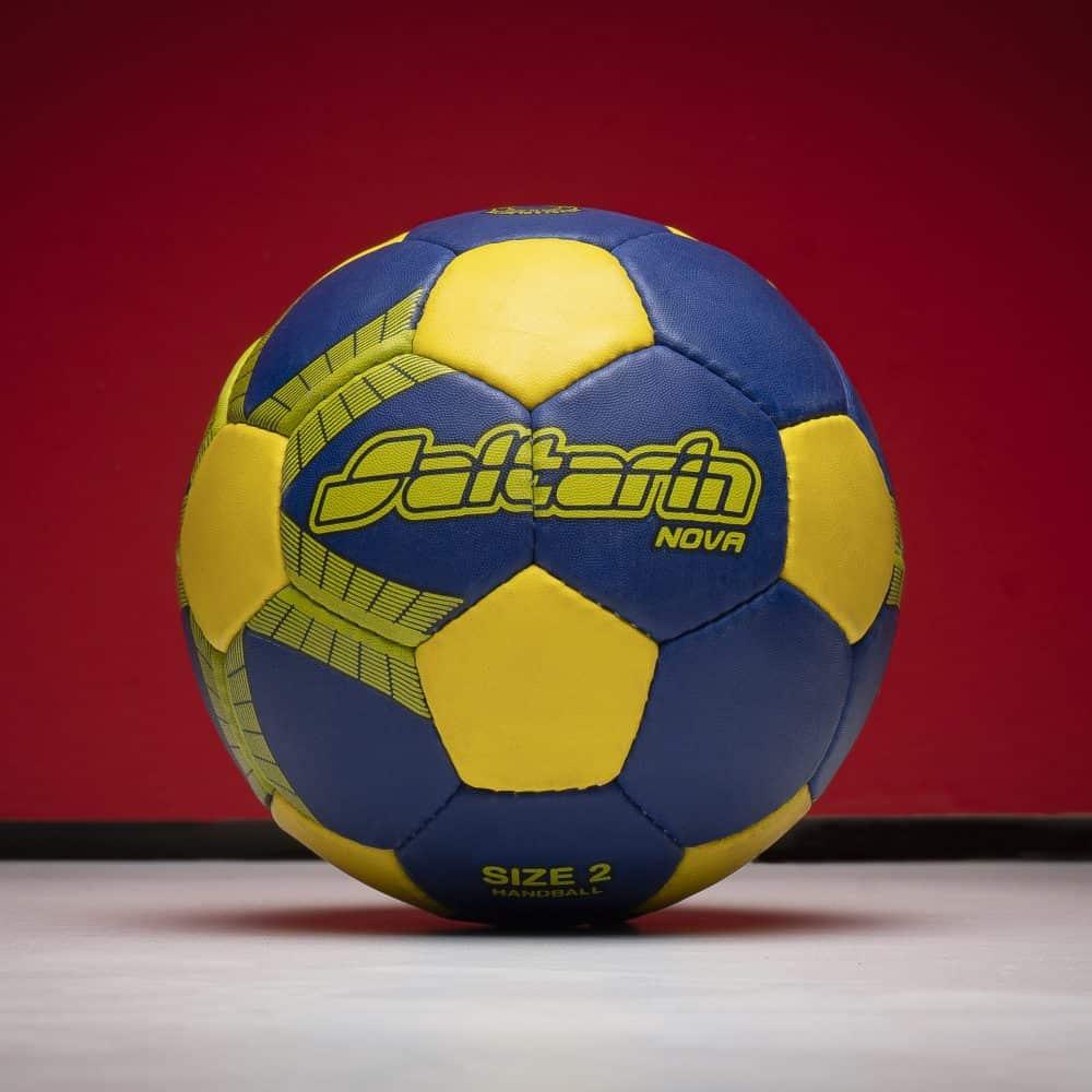 Pelota de Handball Nova Amarillo-Azul Saltarin
